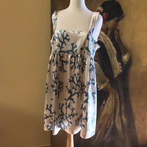 Vertigo Paris NWT Patterned Satin Dress Size XL